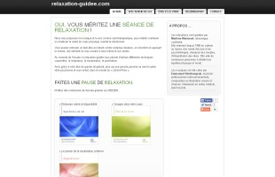 relaxation-guidee.com séances de relaxations guidées